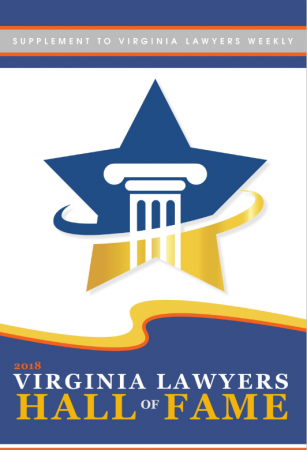 2018 Virginia lawyers hall of fame